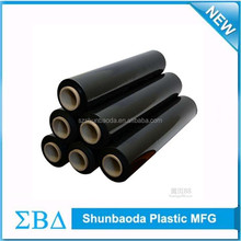 Hot sale black shrink wrap film for packing cargos