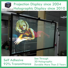 Transparent 3D Holographic Projection Window Display Film Buy Online