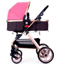 New Born Baby Stroller Factory In China Baby Stroller With Big Wheels/ Cup Holder Luxury Outdoor Baby Pram