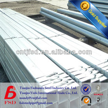 china factory GI welded square tube price ASTM a369