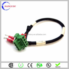 5.08mm pitch 4 pin terminal block cable assembly