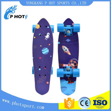 wholesale 9 layer chinese maple skateboard go pro fiber glass skateboard