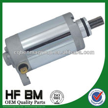 high torque starter motor for motorcycle YBR125 ,hih echnology factory directly sell