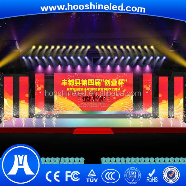 high resolution indoor rgb display stage led panel for concert p4