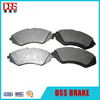 High quality auto car front parts brake pad for chevrolet captiva