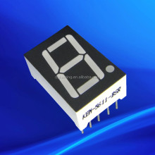 Dongguan Blue 0.56 inch 1 one single digit 7 segment led display