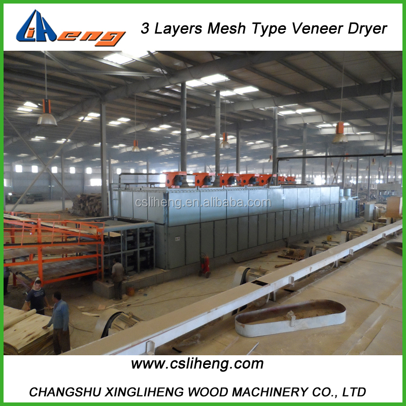 BG183A- 3 Layers Cross Band Veneer Mesh Dryer