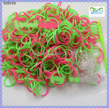 Silicone loom bracelet / Mini rubber band with smell / DIY loom bands 2014