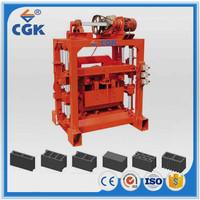 CGK 4-40B concrete blocks making business plan machine with high quality