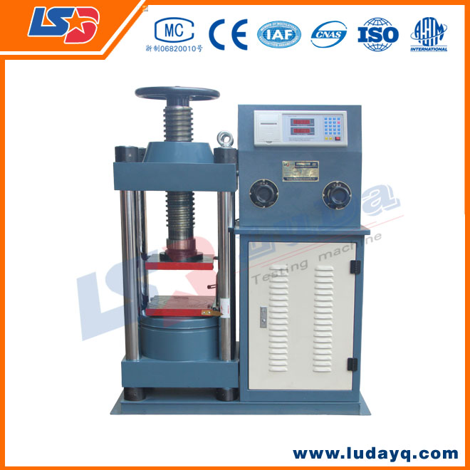 2000knHigh Quality Concrete Compression Test Machine Factory direct sales used wood testing equipments