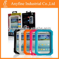 Various color IP67 waterproof case for samsung galaxy s4 i9500 with retail package