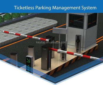 KEYTOP Intelligent Parking Management System for Vehicle Control and Payment