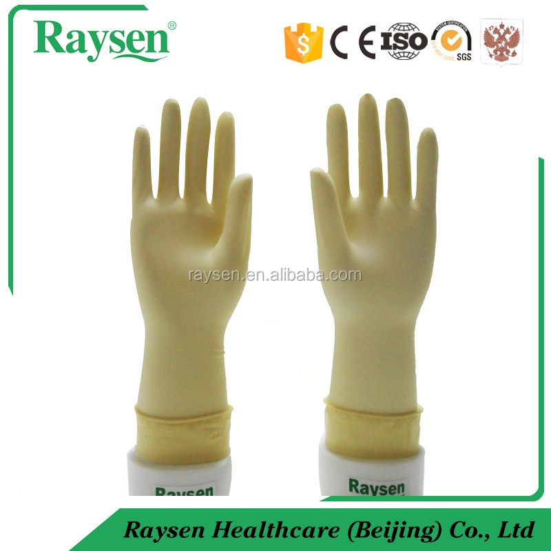 disposable medical consumables natural rubber latex glove sterile and medical grade