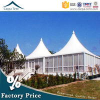 10x10m big outdoor canvas pagoda tent, inflatable cheap wedding party tents for sale