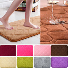 Toilet Floor Door Mats Non Skid Bath Mat