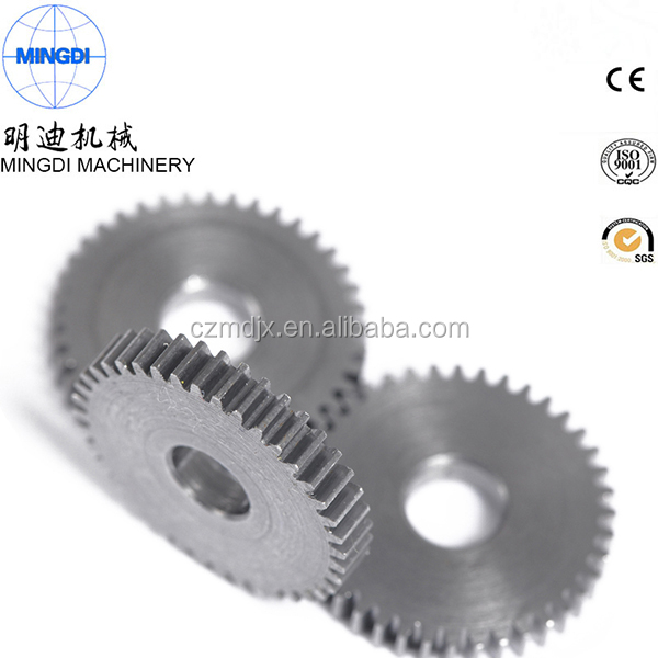 favorable price small metal spur gear for excavator