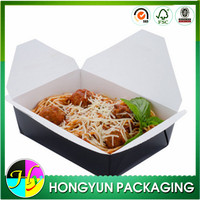 Wholesale biodegradable food grade paper lunch box