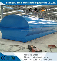 waste tyre/engine/crude oil into diesel plant by Shangqiu Sihai