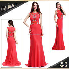 jewel illusion neck chiffon mermaid elegant lace mother of the bride evening dresses