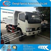 Dongfeng 4x4 small dump truck price