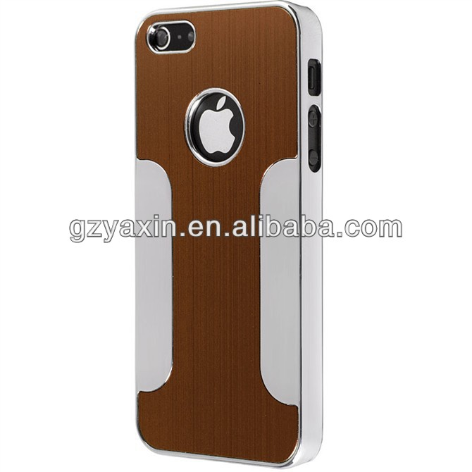 Fashion clear aluminum case For iphone 5,pc aluminium case for iphone 5
