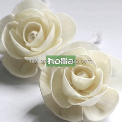Sola Wood Flowers for Diffuser, ISO9001:2008 Certified Manufacturer of Sola Wood Flowers