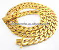 24k gold plated necklace N202, local tyrant necklace for 2014