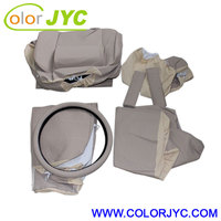 Full CAR SEAT COVER SET with back support