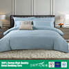 Hotel linen/300 Thread Duvet cover bedding set bamboo modern bed sheet sets