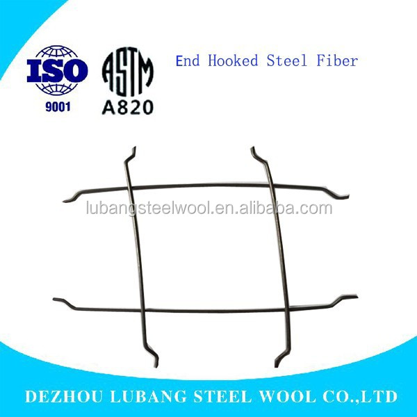 65/35 Hooked End Steel Fiber Factory used in concrete for reinforcement exportation ASTM Standard
