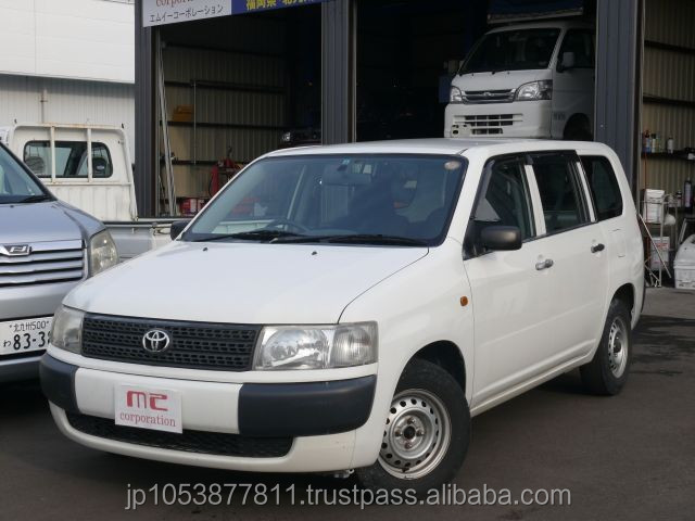Right hand drive and Good looking used toyota probox van used car with Good Condition made in Japan
