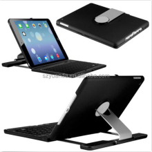 Wireless Bluetooth Keyboard Case for Apple iPad Air with 360 Degree Rotation and Multi-Angle Stand