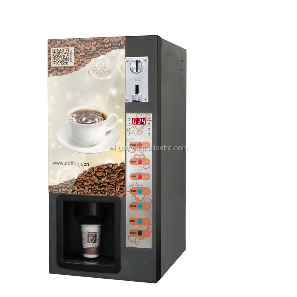 Table top / standing coffee vending machines from China manufacturer