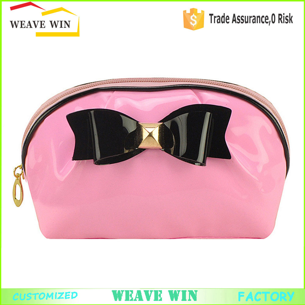 Custom Mini fashion butterfly makeup bag PVC cosmetic bag