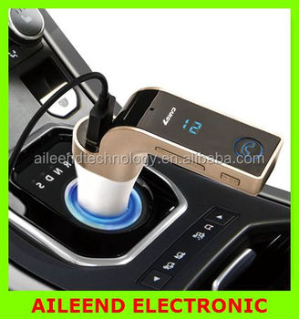 4-in-1 G7 TF Music Player USB FM Car charger Bluetooth car kit FM Transmitter