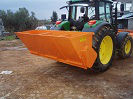 ss type salt spreader for tractor or truck