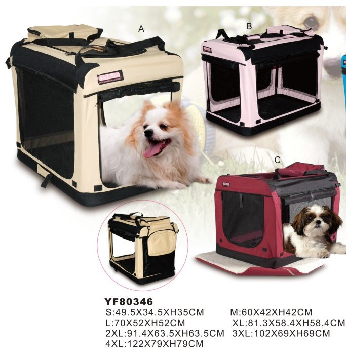 Lovely portable luxury convenient pet carrier bags/pet carrier