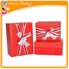 Paper gift box printer glossy art custom cardboard gift boxes printing
