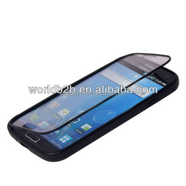 Full Body Protector TPU Gel Case For Samsung Galaxy S4/SIV,With Front Cover design