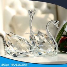 K9 crystal wedding return gift home desktop small ornament clear crystal glass swan