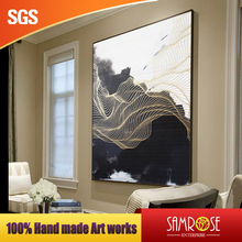 Hand made oil painting high end wall artworks