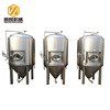 carbon steel glycol cooling jacket beer ferment tank beer storage tank