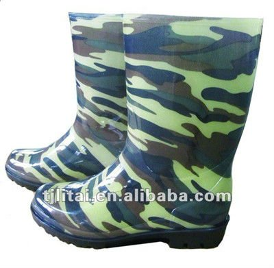 men footwear,PVC safety rain boots,safety rain boots