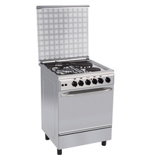 2 gas burners+2 hotplates cooking range with gas stove