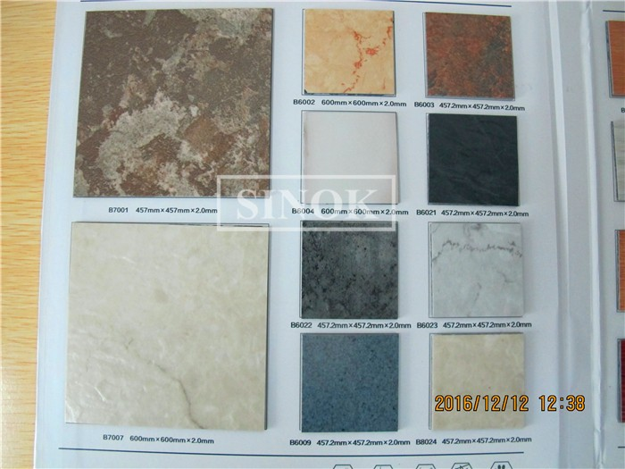 high gloss ceramic pvc tile pvc plank vinyl flooring