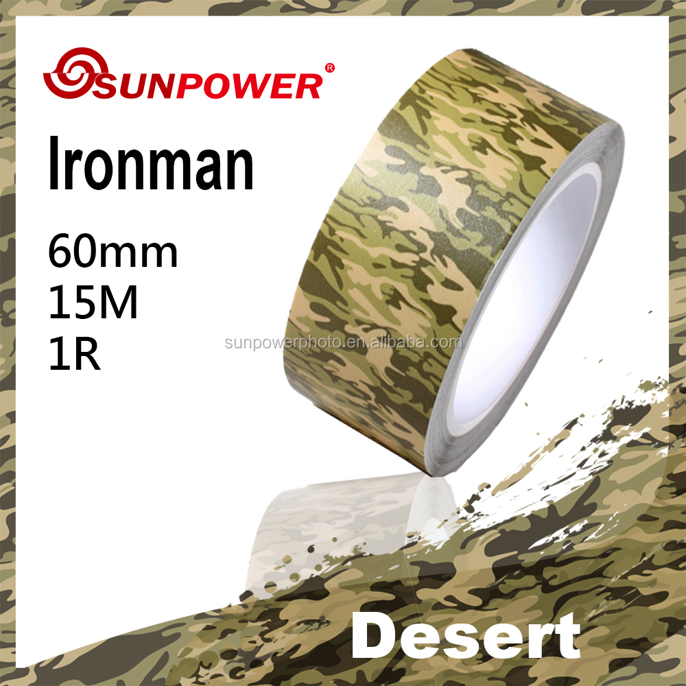SUNPOWER IRONMAN desert waterproof heat resistant acrylic masking Tape