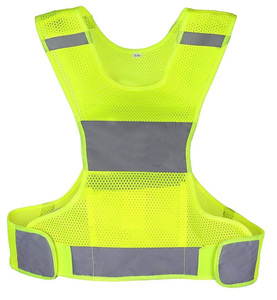 High Visibility Reflective Safety Vest For Running and jogging or motorcycle