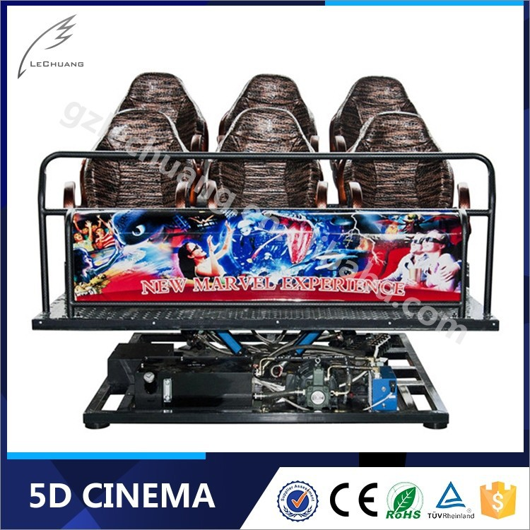 Lechuang Hydraulic/Electric 6/8/9/12 Seats 6Dof Motion Platform For 5D Cinema