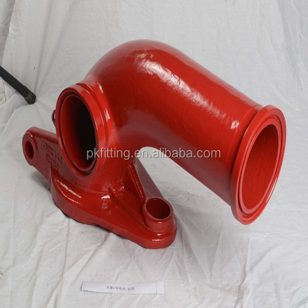 Sany concrete pump pipe hinge elbows / bend for sale