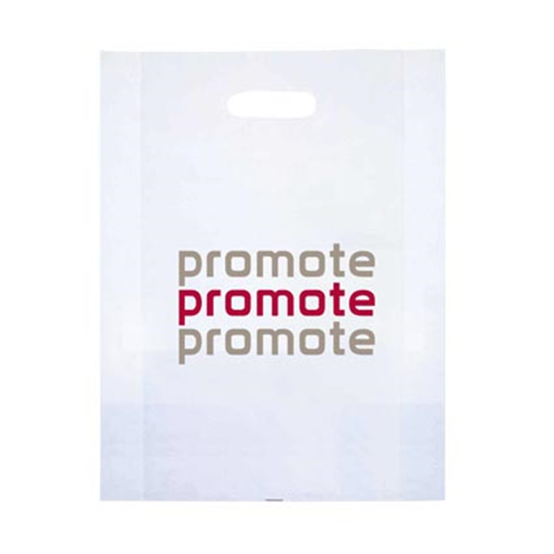 Manufacturer Custom Logo Printed Die Cut Plastic Hdpe Carrier Bag